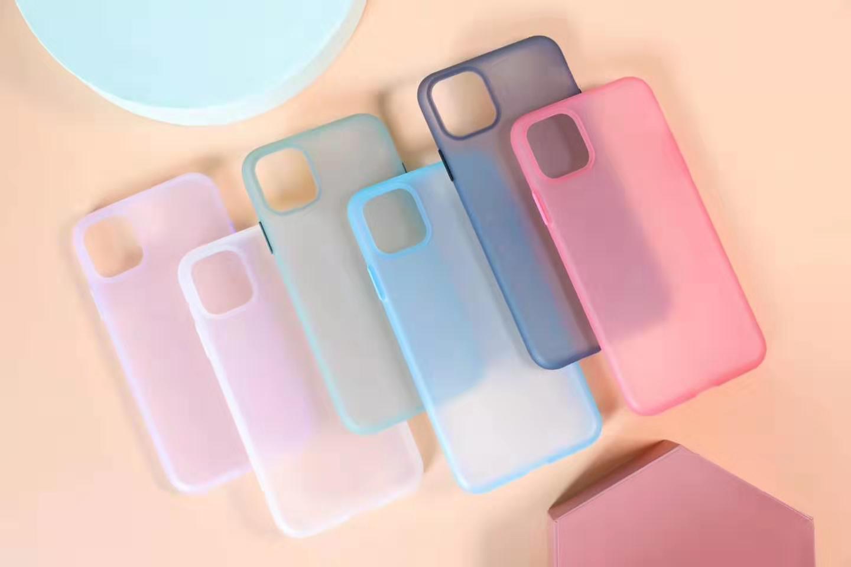 El nuevo modo Anti-klop armadura teléfono caso Voor Iphone 11 11Pro Max excelente sensación mate Harde Beschermende Backcover