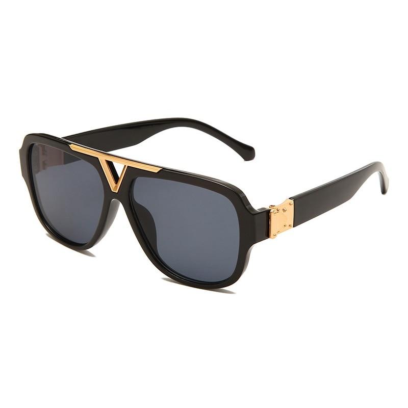 Luxury Fashion Men Sunglasses Pilot Designer Frame 8 Color Unisex Stylish Glasses UV400