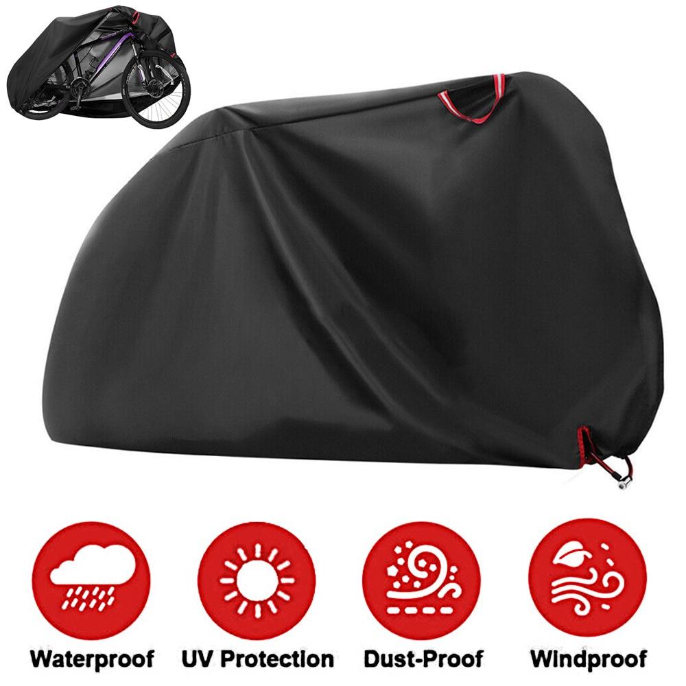 في الهواء الطلق مقاوم للماء UV واقية الغبار واقية دراجة دراجة غطاء تنحنح مرونة تنفس قناع 210D أكسفورد النسيج الأسود يغطي