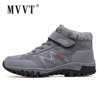 super warm winter women boots platfrom suede leather boots men outdoor shoes waterproof women snow boots ankle hombres botas