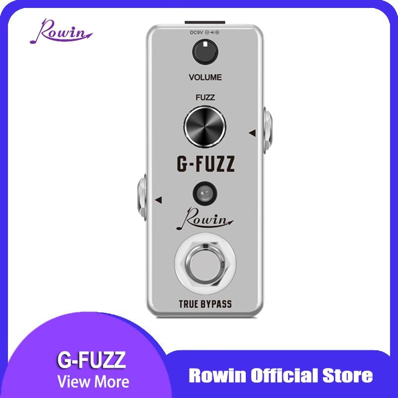Rowin LEF-322 G-FUZZ Pedal Guitar Effect True Bypass недорого