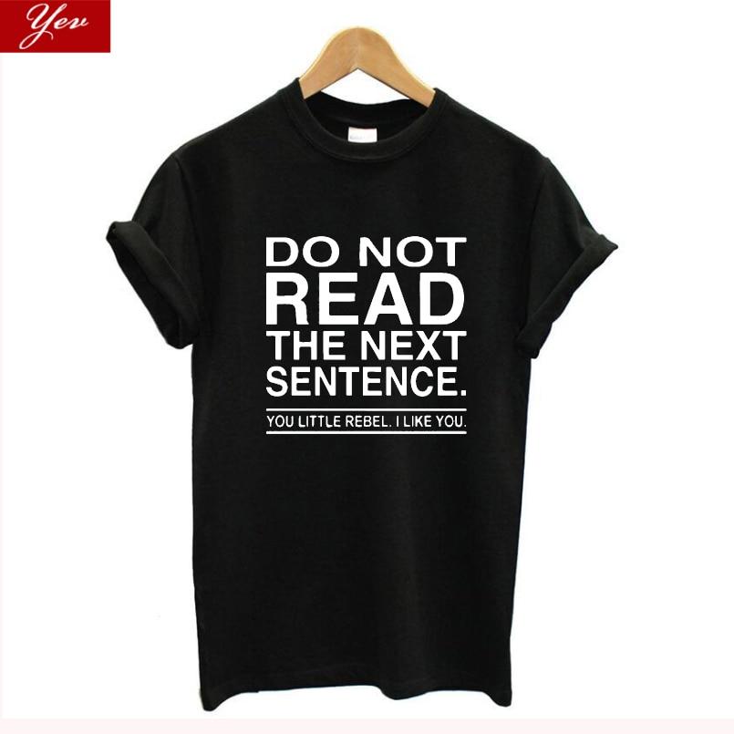 Camiseta divertida con estampado de letras de mujer, Camiseta de algodón 100% de talla grande para verano, harajuku