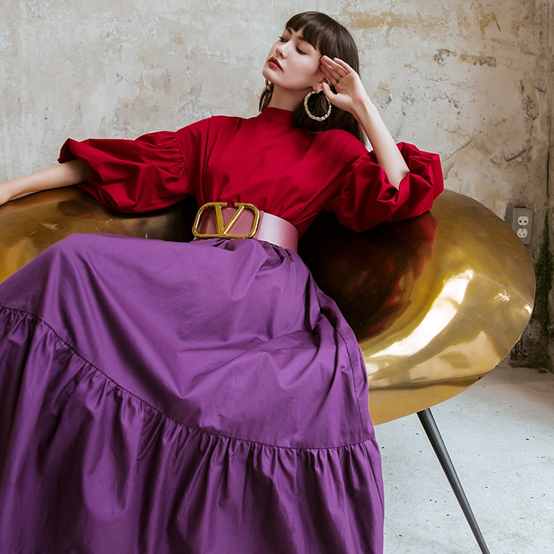 AliExpress - YIGELILA Women Fashion Pullovers Blouse Elegant Lantern Sleeve Shirt Solid Spring Blouses Chic Tops 71044