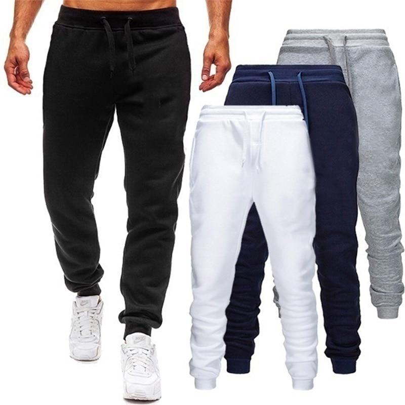 Весна осень спортивные мужские джоггеры тренировочные брюки мужские джоггеры брюки спортивная одежда Высокое качество Мужские спортивные...
