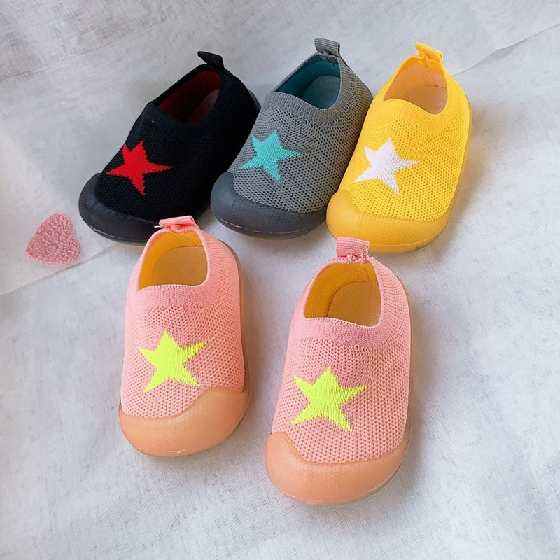 Kid Baby First Walkers Shoes Breathable Infant Toddler Shoes Girls Boy Casual Mesh Shoes Soft Bottom