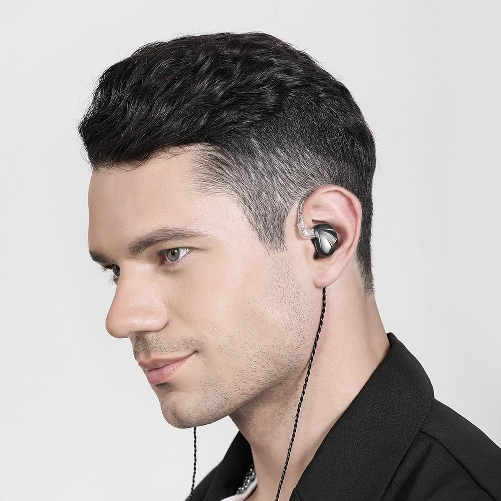New TRN VX 6BA 1DD Hybrid Metal In Ear Earphone IEM HIFI DJ Monitor Running Sport Earphone Earplug Headset Headplug enlarge