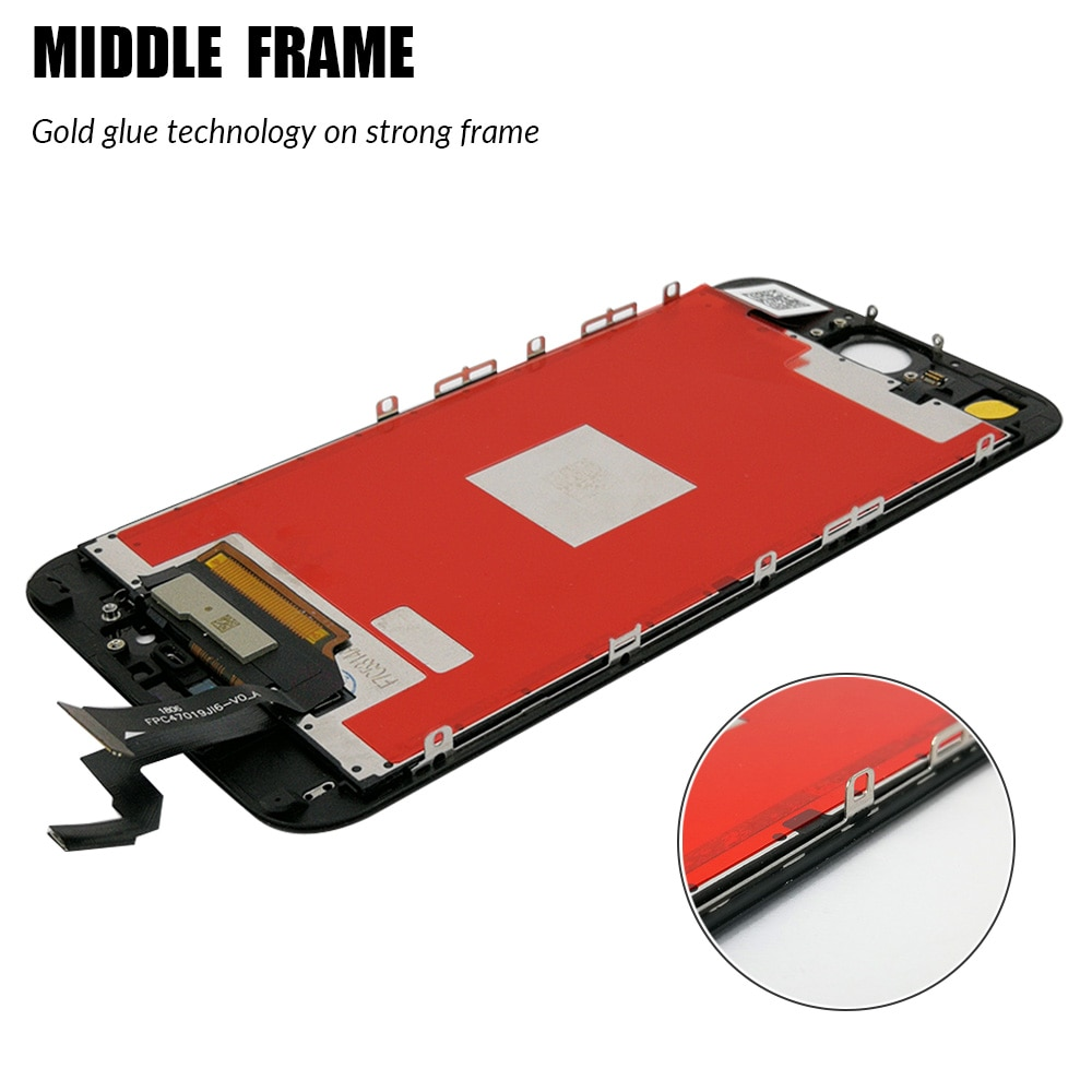 AAAA LCD For iPhone 5 5S 6 6S 7 8 Plus LCD Screen Display for iphone 6 S 6S Plus Lcd Digitizer Touch Screen Replacement Assembly enlarge