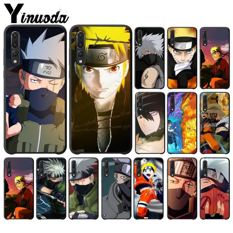Yinuoda Hokage Naruto Kakashi japonais anime PhoneCase pour HuaweiP30PRO LITE P SMART P20LITE2018 NOVA 2 2I 2PLUS 2S P smart plus