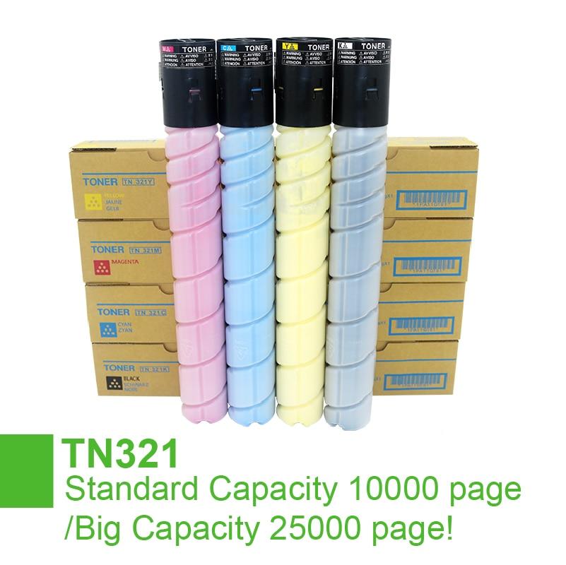 جديد TN 321 خرطوشة حبر TN321 ل كونيكا مينولتا Bizhub C221 C281 C221S C224 C284e C7822 C7828 C7122 C7128 طابعة