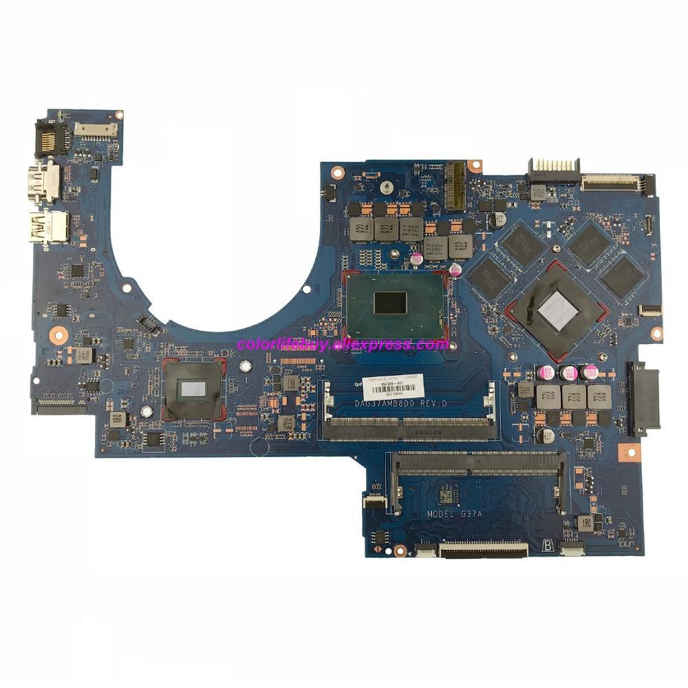 Genuino 857388-601, 857388-001 DAG37AMB8D0 w 960 M/2 GB i7-6700HQ CPU placa base para portátil HP 17-W010CA 17-AB020NR 17T-W000 NB PC