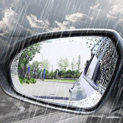Пленка на зеркало заднего вида автомобиля Наклейка в форме капель дождя для subaru legacy grand vitara hyundai tucson 2018 хэтчбек chery aveo 2009 dacia duster