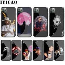 L55 Singer  Chris Brown Tempered glass Case for iphone 11 Por XS Max XR X 8 7 6 6S Plus 5 5S SE Case