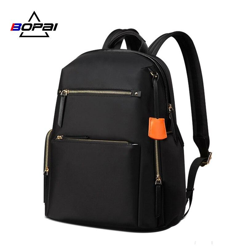 Рюкзак офисный женский водоотталкивающий нейлоновый рюкзак женский рюкзак 2019 рюкзаки для школьников черный