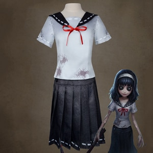 Game Identity V Cosplay costumes Hunter Dream Witch Yidhra Cosplay Costume Kawakami Tomie Skin Uniforms Suits Cloth Sailor Dress