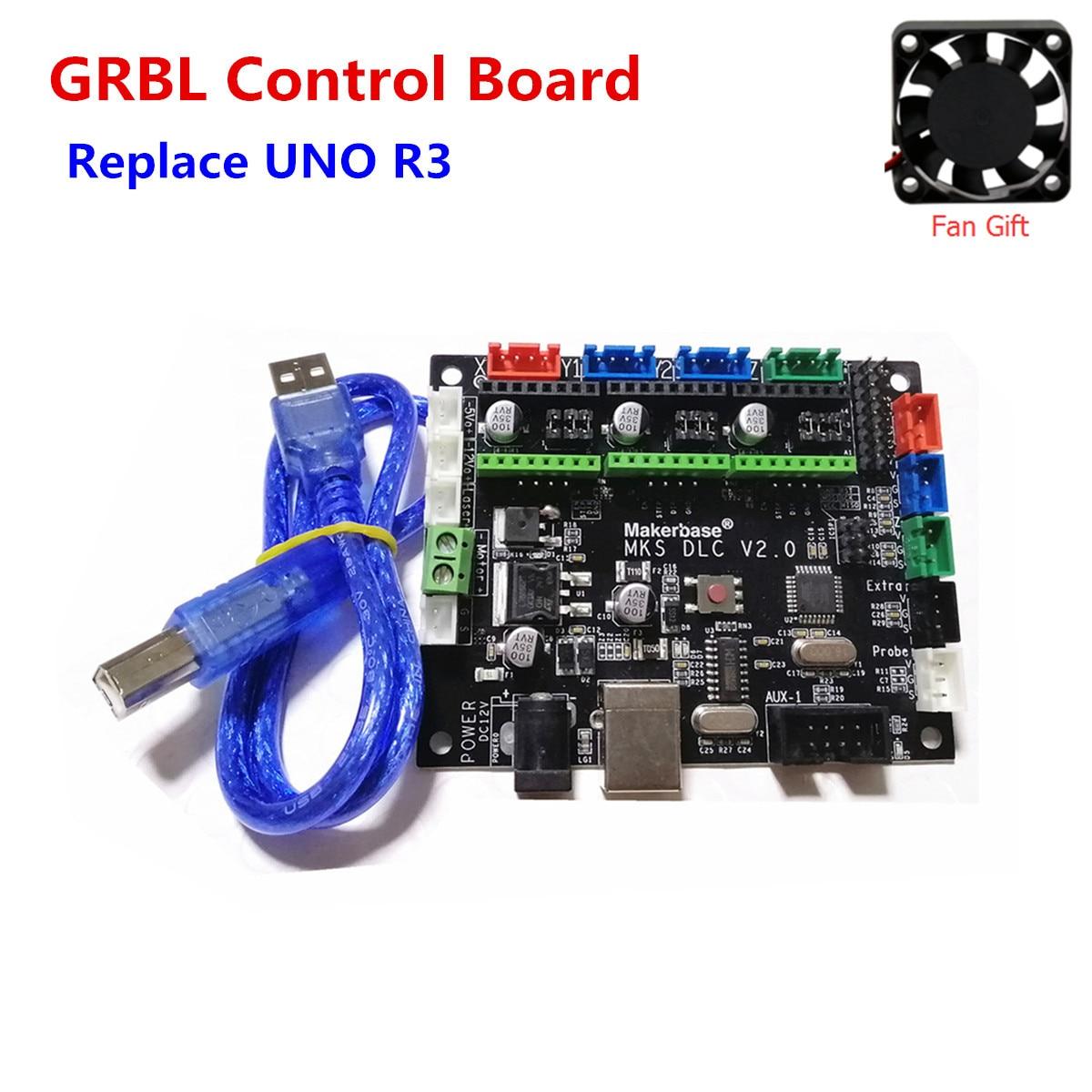 GRBL CNC motherboard TTL control platte 3 achsen stepper laser fahrer breakout board cnc schild v3 expansion board arduino UNO r3