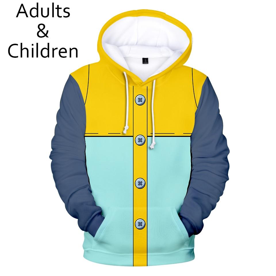 3D The Seven Deadly Sins Comic Character Clothes Hoodies Men Women Sweatshirts Hot Autumn Kids Hoodie New 3D boys girls pullover