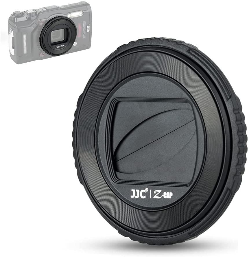JJC كاميرا السيارات عدسة كاب حامل غطاء لأوليمبوس tg6 tg5 tg4 tg3 tg2 tg1 TG-6 TG-5 يستبدل LB-T01 عدسة حامي اكسسوارات