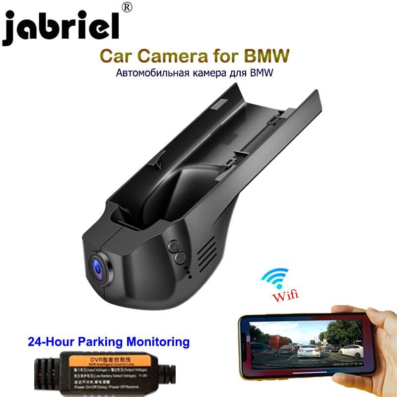 Jabriel-كاميرا سيارة BMW 1080P ، عدسة مزدوجة ، مسجل 24 ساعة ، dvr ، كاميرا لوحة القيادة ، لسيارات BMW 1/3/5/X1/X3/X5 f10 f15 f20 f25 f30 f40 f48 g30