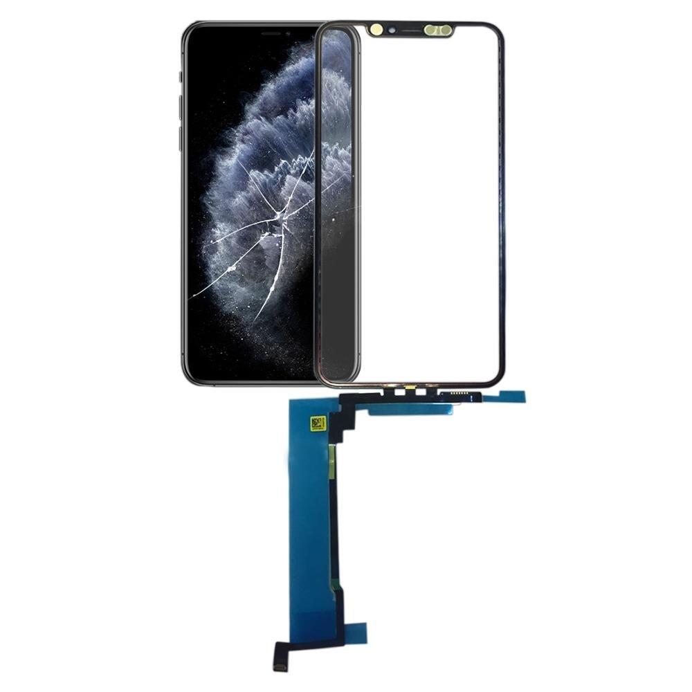 Pantalla táctil Panel táctil para iPhone 11 Pro iPhone 11 Pro Max pantalla táctil digitalizador Sensor lente cristal frontal reemplazo