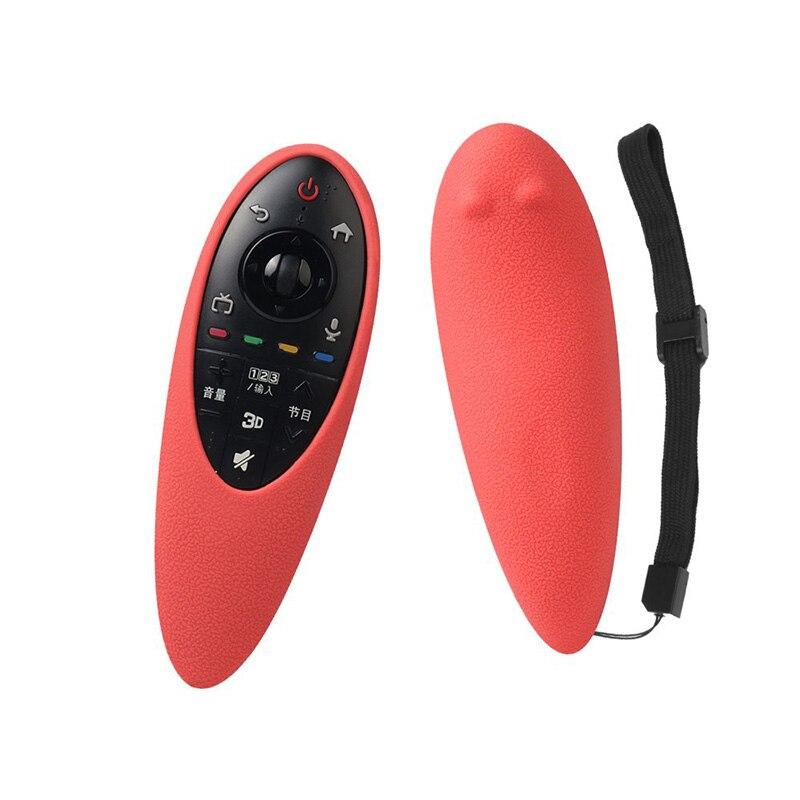 Capa de controle remoto para lg AN-MR500 proteção silicone 3d smart tv magia controle remoto caso flexível à prova choque para mr500