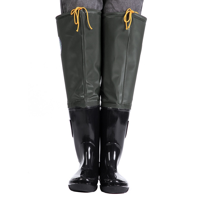 Thickened Super High Water Pants Multipurpose Rain Boots Wear-resistant Fishing Waders for Fishing Shoes Non-Slip Water Shoes enlarge