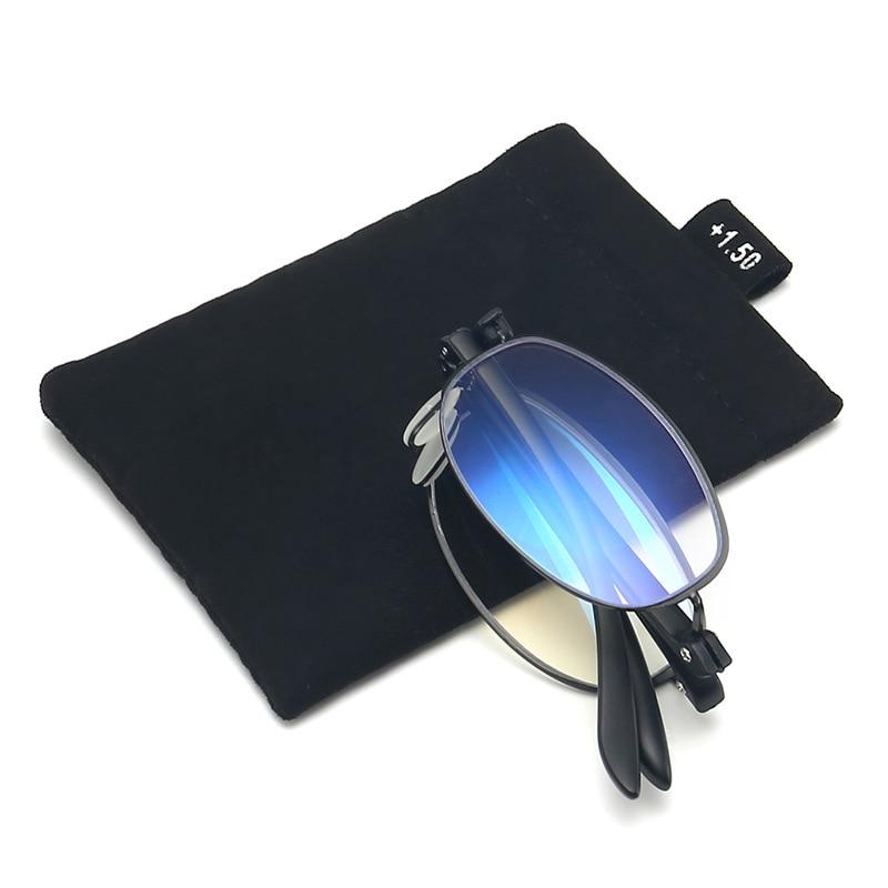 VCKA Intelligent zoom progressive reading glasses Fold TR90 commercial presbyopia hyperopia multi-focal anti-blue-ray spectacles