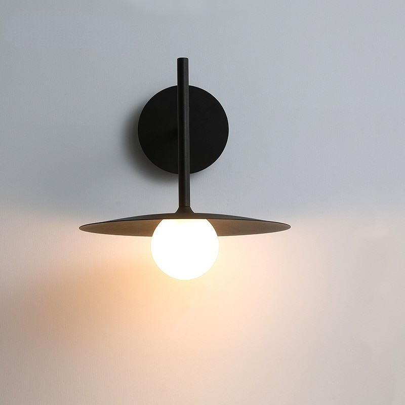Minimalist bedroom bedside wall lamp designer industrial style living room background aisle staircase wall light