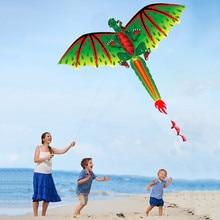 3D d-ragon k-ite enfants jouet amusant en plein air vol activité jeu enfants avec queue