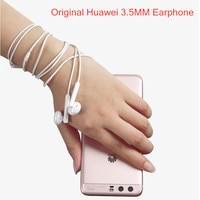 Оригинальные наушники Huawei Mate 10 20 AM115 3,5 мм, гарнитура с микрофоном для P20 lite P10 P9 Plus P30 Honor 7 8 9 10 20 V8 V9 Nova 4e 5i