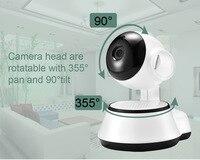 FDBRO IP Camera HD 720P Wifi Camera Wireless P2P Security Surveillance Camera Night Vision IR Robot Baby Monitor