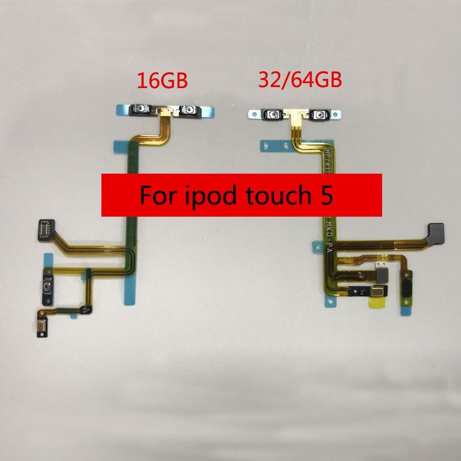 Für iPod Touch 5 5th Power Switch On/Off-Taste + Lautstärke Taste Flex Kabel Band