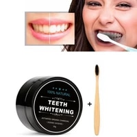 30g charcoal powder natural activated charcoal teeth whitener powder oral hygiene dental tooth care teeth whitening oral care