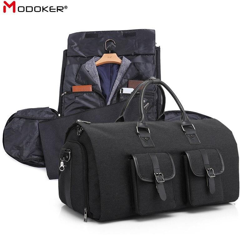 Рюкзак Modoker мужской, прочный, черный