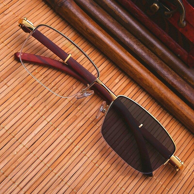 Gafas de sol fotocromáticas Vazrobe, gafas de sol de madera para hombre para miopía 1,5 3,0 1,5 2,5, gafas de sol de lectura dioptrías 1,25 1,5 1,75