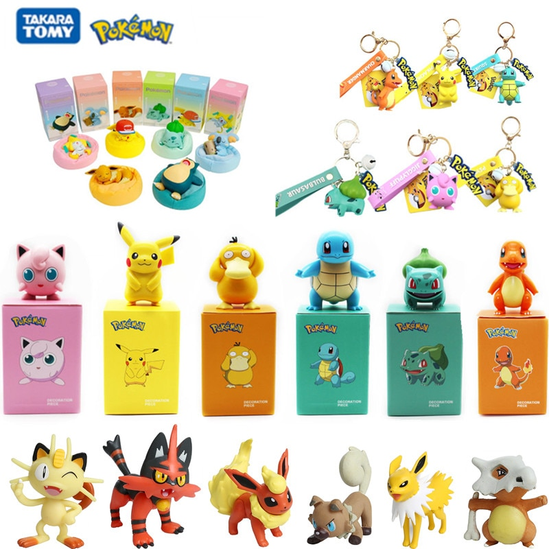12pcs different styles my little unicorn pony horse action figure anime figure toys collection model doll christmas gift 6Pcs/Set Various Styles Genuine Pokemon Starry Dream Series Doll Anime Cartoon Action Figure Pikachu Keychain Toys Model Gift