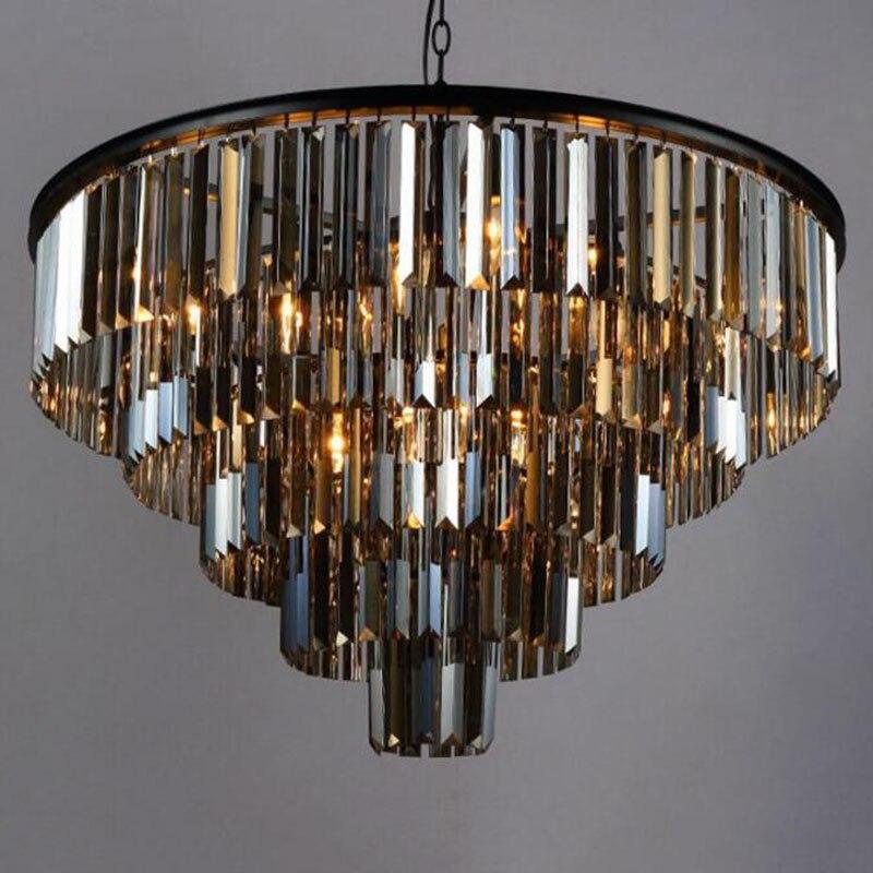 Brillo de Cristal Elegante para decoración del hogar, lámpara de cristal de...