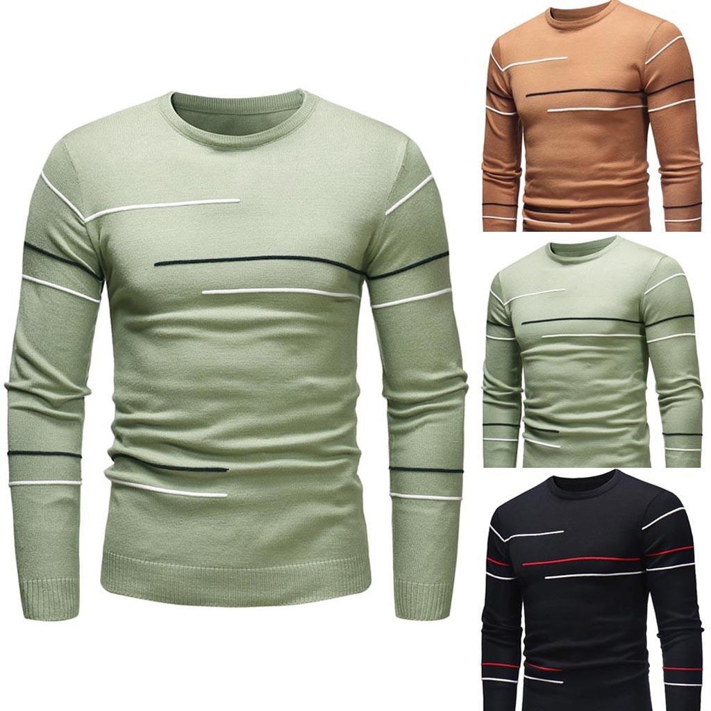 Camisola masculina outono inverno pulôver fino jumper malhas outwear blusa sweatercoats masculino casual fino ajuste roupas pullovers