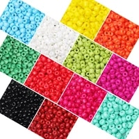 czech charm glass seed beads 234mm pony beads for diy bracelet necklace spacer beads for needlework jewelry making kit