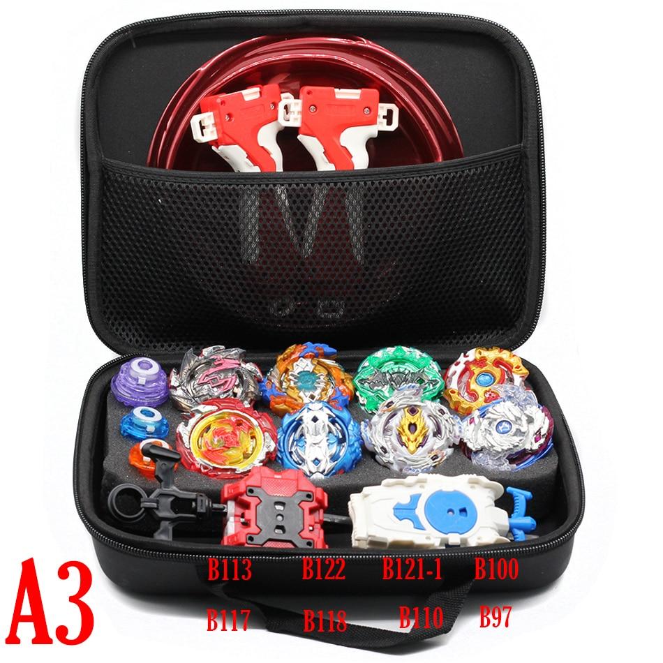 Conjunto de bolsa de almacenamiento takaray Tomy Beyblade de ráfaga, giroscopio de Metal, lanzador, blayblad Hood Blade, juguetes para niños