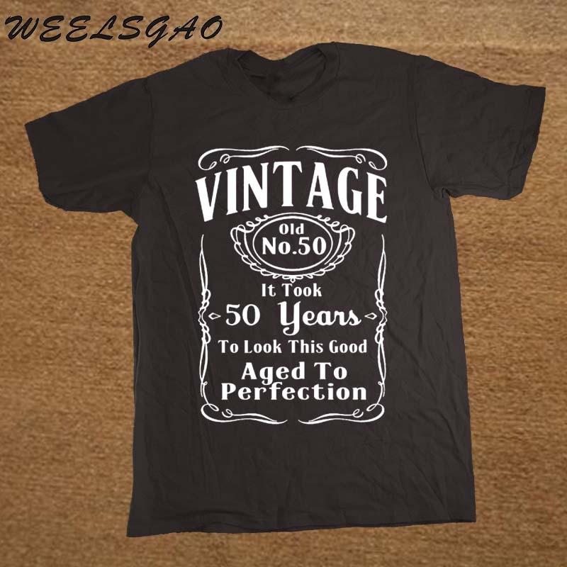 WEELSGAO Stranger Things Design T Shirt New MenS Crew Neck Short Sleeve Best Friend 50Th Birthday 50 Years Old Shirts
