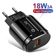5V 3A téléphone chargeur USB Charge rapide 3.0 chargeur de téléphone portable rapide QC3.0 adaptateur USB pour HTC M8 M8 SONY XZ/ XZ Premium LG G5 G6