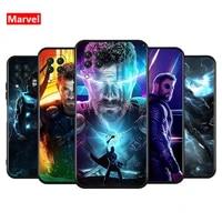 marvel avengers super hero thor for huawei nova 8 7i 7 6 5t 5e 5z 5i 5 4e 3i 3e 2i lite pro se tpu silicone black phone case