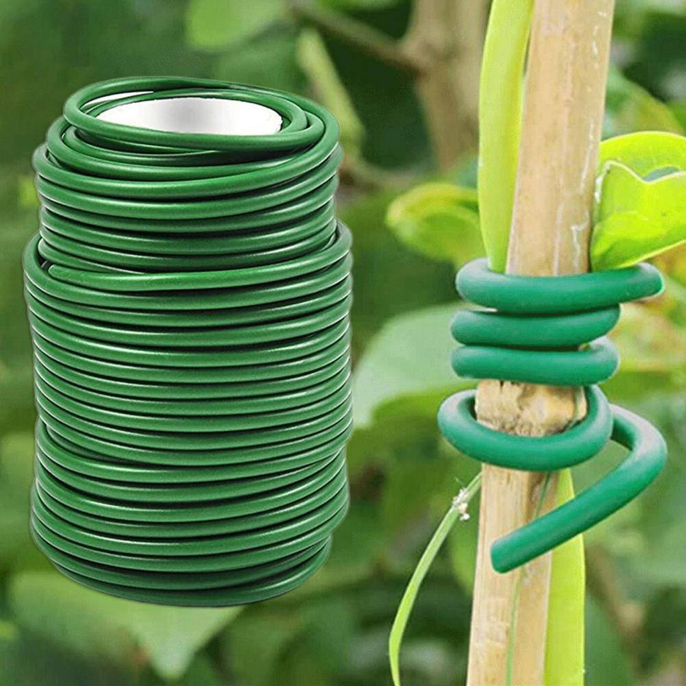 1 Roll Plant Twist Tie Flexible Widely Applied Well Support Multi-Function Garden Twist Ties for Yard Supports Plant Cages