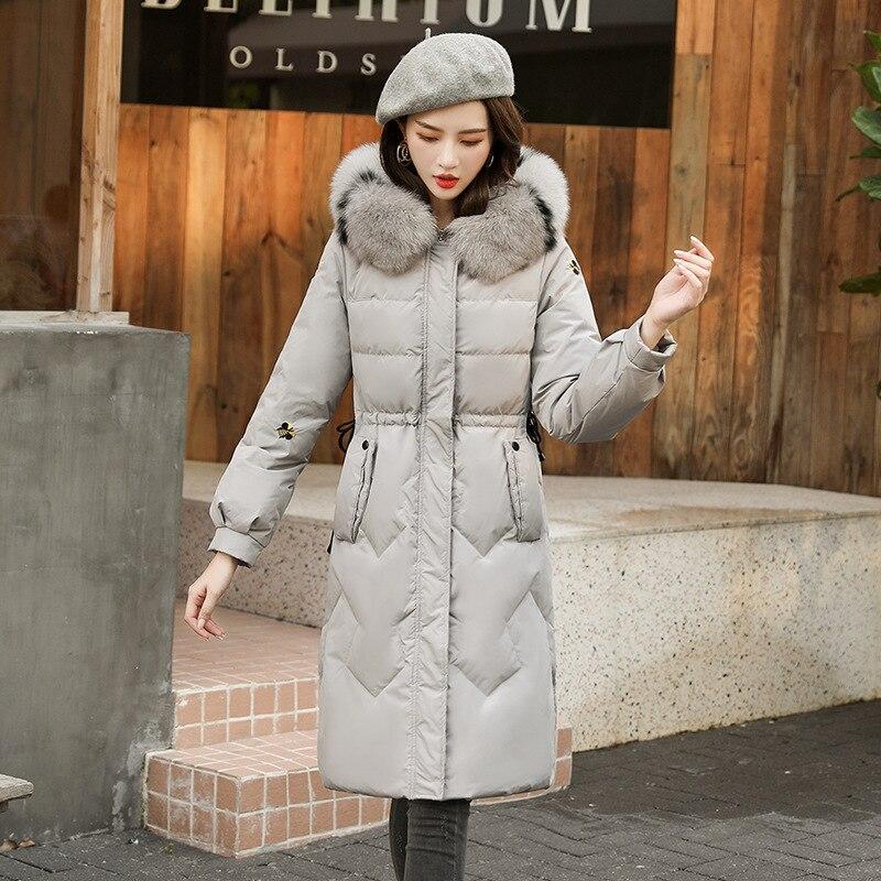 Новинка, Украина, женские парки, длинный пуховик, мех енота, шапка, воротник, зимняя куртка, плотная теплая верхняя одежда, зимняя куртка с пр...