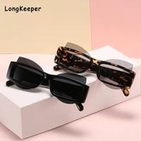 brand design square sunglasses women vintage leopard gray sunglass for men 2021 unique personality lens black trend 90s eyewear