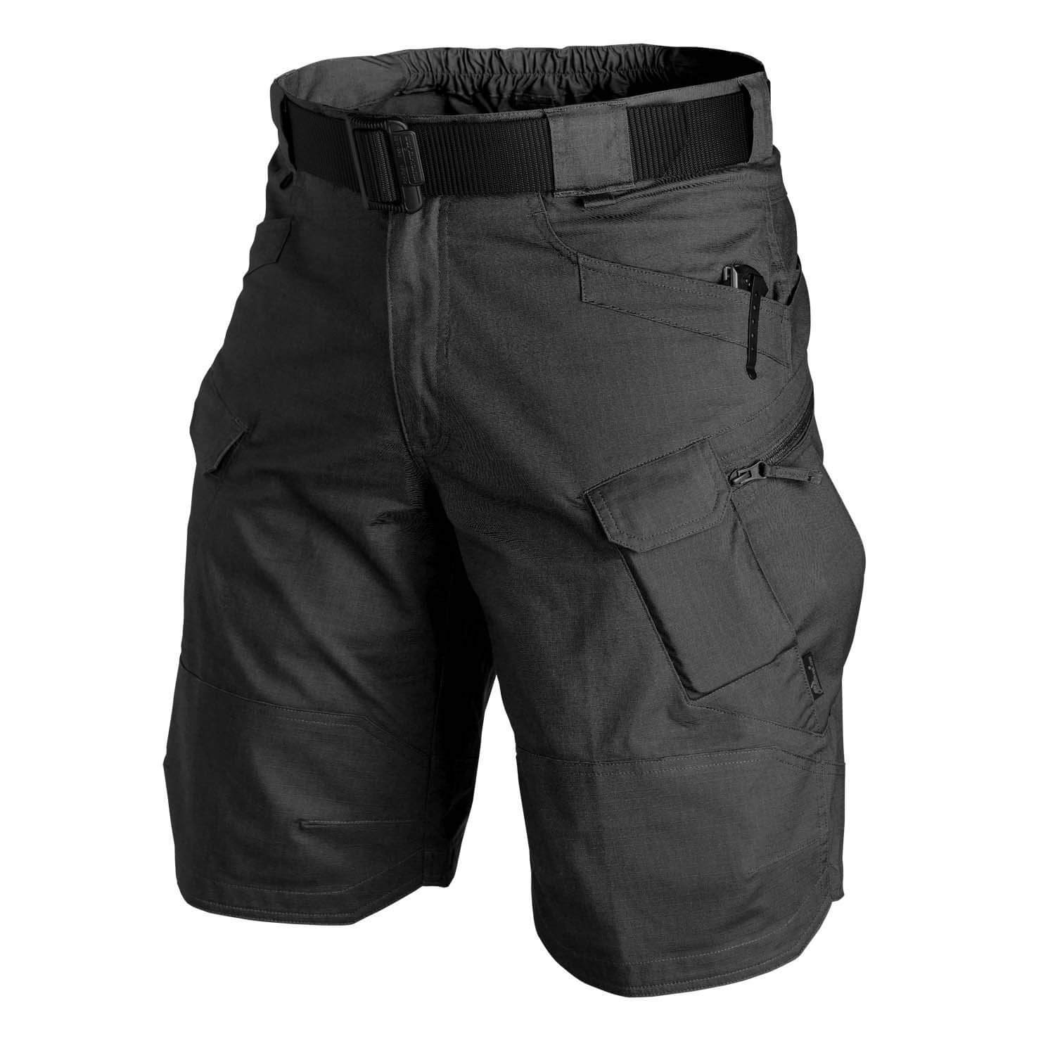 Men Classic Tactical Shorts Upgraded Waterproof Quick Dry Multi-pocket Short Pants Outdoor Hunting Fishing Military Cargo Shorts