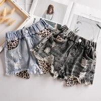 ripped denim shorts girls new summer shorts baby children all match hot pants girls holes shorts for girls tassle pants