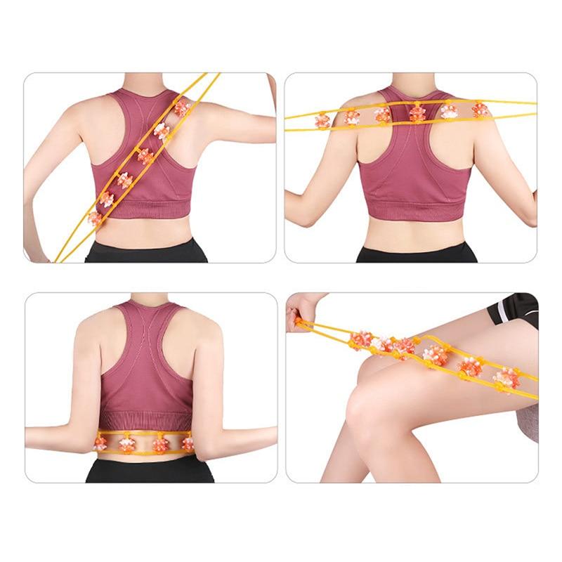 High Quality Massage Wheel Full Body Neck Back Leg Waist Roller Massage Theraputic Care