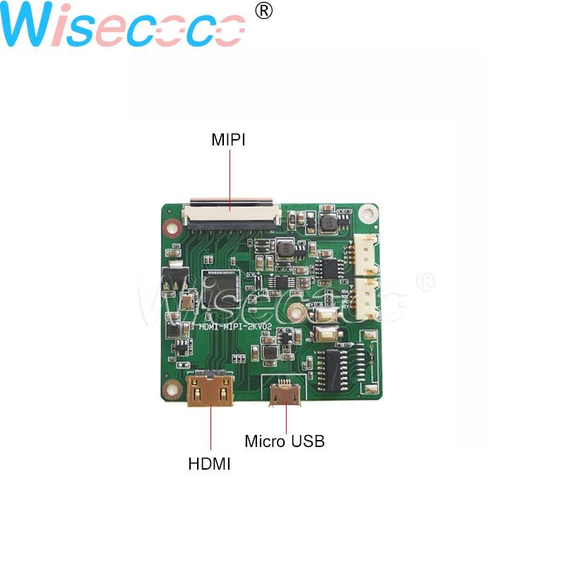 5 Inch IPS Round Circle Circular LCD Screen 400nits 1080P LCM Display 1080*1080 + MIPI  Micro USB Controller Driver Board enlarge