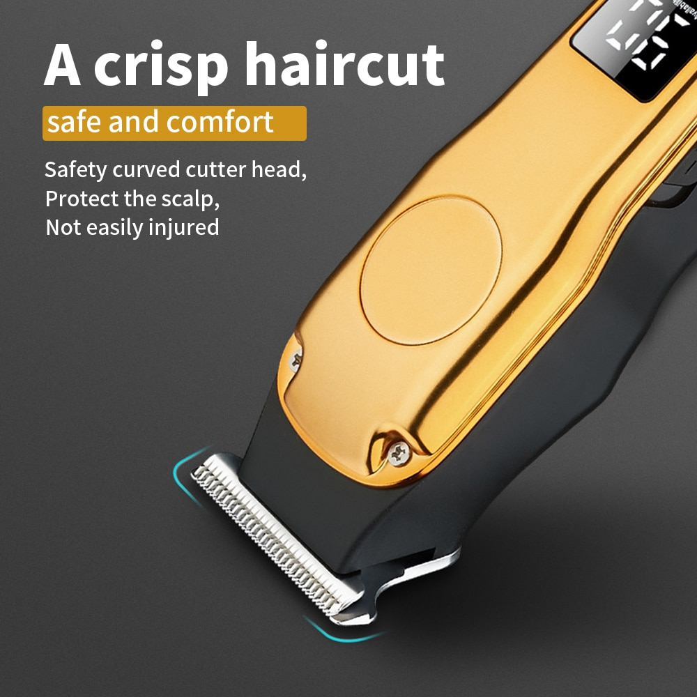 Electric Hair Clipper Beard Shaver Trimmer For Men Professional Shaver Barber Clipper Rechargeable Haircut Machine enlarge